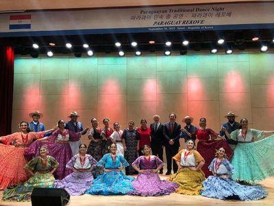 Elenco de baile Paraguay Rekove se presentó en Corea del Sur