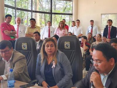 Rechazan intervención de la gestión de Digno Caballero, pese a que admitió irregularidades