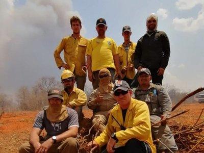 Chovoreca ya no arde y los bomberos vuelven a casa