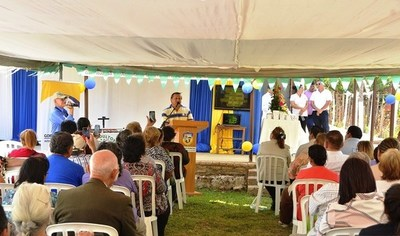Inauguran dispensario médico en Mora Cué •