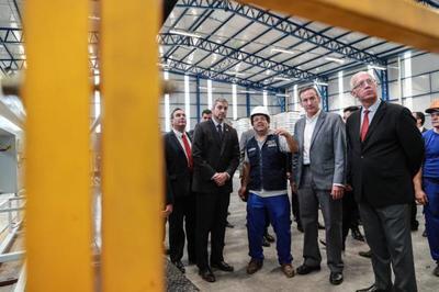 Inversores nacionales apuestan al país e instalan moderna planta de fabricación de tuberías