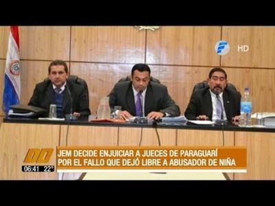 JEM decide enjuiciar a jueces de Paraguarí