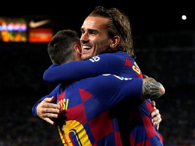 Barcelona e Inter disputan el juego más atractivo de la jornada