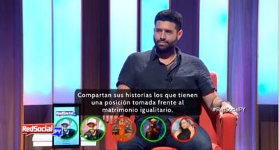 """Bicho Riveros: """"Estoy a favor del amor y de la vida"""""""