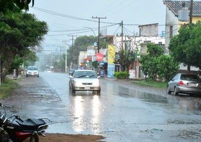 Llegó la ansiada lluvia en Misiones