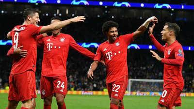 Bayern Múnich se apuntó una goleada de escándalo en la Champions League