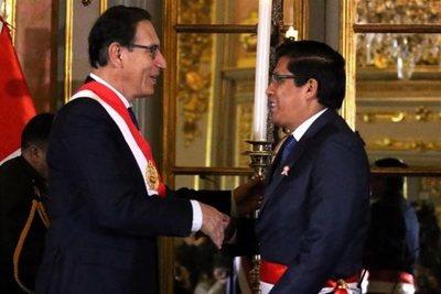 El primer ministro de Perú afirma que Vizcarra no renunciará ni pedirá elecciones generales