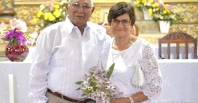 Un matrimonio que dura hace más de cinco décadas
