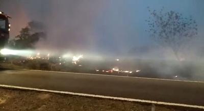 Fiscalía abre investigación sobre incendios en Parque Guasu