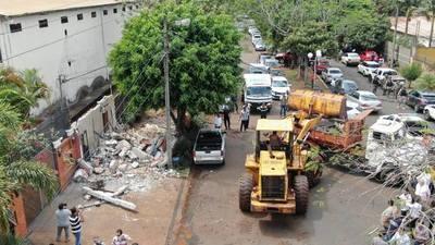 Comuna esteña dispone demolición de caseta de seguridad de los Zacarías