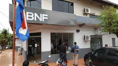 Allanan local de BNF en Yby Yau