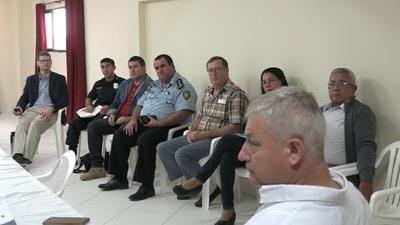Conforman consejo para fortalecer la seguridad en Boquerón