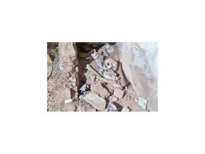 Dudas sobre hallazgo de restos óseos