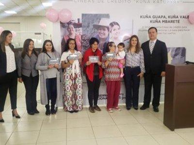 Línea de crédito Kuña Katupyry beneficia a más de tres mil emprendedoras