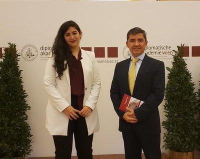 Por primera vez una estudiante paraguaya ingresa en la Academia Diplomática de Viena