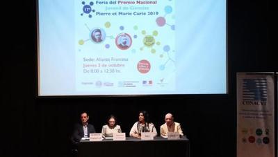 """Jóvenes presentaron proyectos de investigación en la Feria final del Premio """"Pierre et Marie Curie"""""""