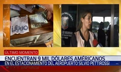 Policia devuelve USD 9.000 a mujer que olvidó su bolso en el aeropuerto