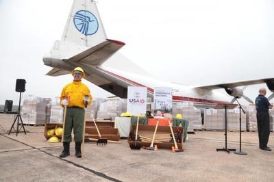 Paraguay recibió equipos donados por Estados Unidos