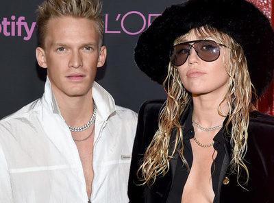 Miley Cyrus es vista besando a Cody Simpson
