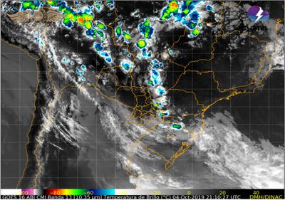 Alerta Meteorológica: Tiempo severo puede volver el día de hoy