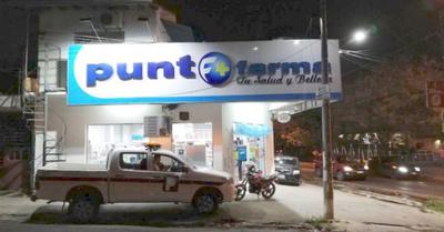 Motochorros asaltaron una cadena de farmacias
