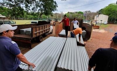 Gobernación y Municipalidad de CDE asisten a afectados por temporal