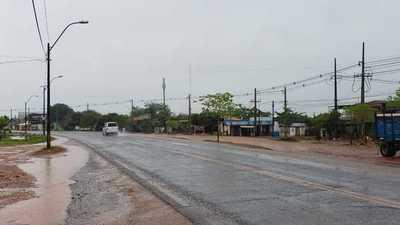 Lluvia aplaca intensa sequía y calor en Concepción