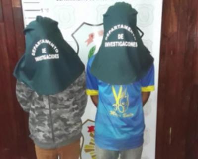 Concepción: Detienen a jóvenes por simular robo