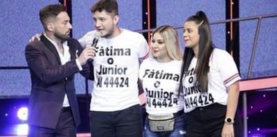 Junior Rodríguez Y Fátima Román Quedaron Eliminados Del Baila Conmigo Paraguay