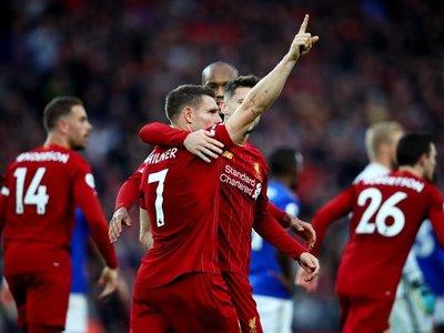 Milner sostiene el pleno de triunfos del Liverpool
