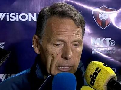 Miguel Ángel Russo analiza la derrota ante Capiatá