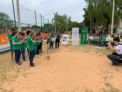 Más de 2.000 jóvenes se movilizan en la fecha por el cuidado del agua