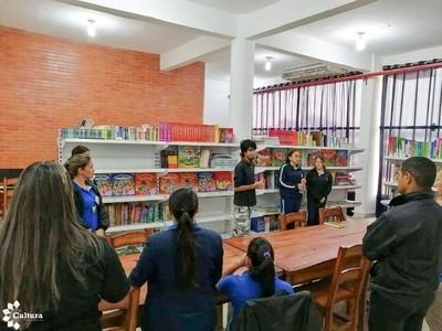 Fortalecen bibliotecas públicas en nueve departamentos