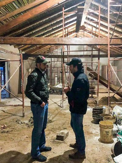 Presidente verificó restauración de iglesia San Francisco Solano, patrimonio de Yabebyry