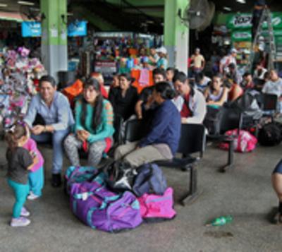 Reducen a supuesto asaltante en la Terminal de Ómnibus de Asunción