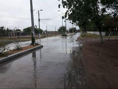 Bendecida lluvia en el Alto Paraguay