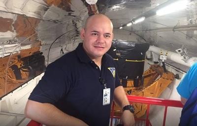 El paraguayo que es ingeniero de la NASA y busca llegar a la Luna