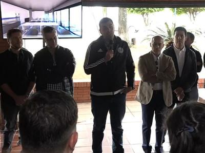 Trovato habla sobre el futuro de Garnero y Santa Cruz en Olimpia