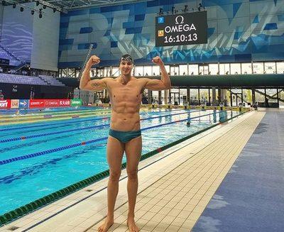 Buena gestión de nadadores paraguayos en Mundial de Hungría
