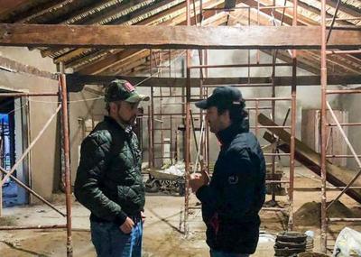 Mandatario verificó trabajos de restauración de iglesia jesuítica de Yabebyry