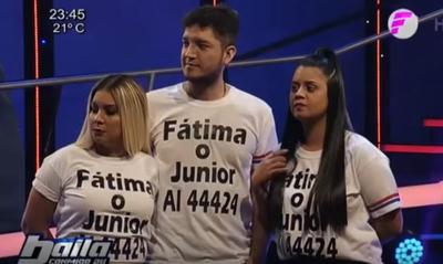 """Junior y Fátima eliminados de """"Baila Conmigo Paraguay"""""""