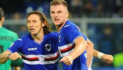 Barreto se queda sin DT en Sampdoria