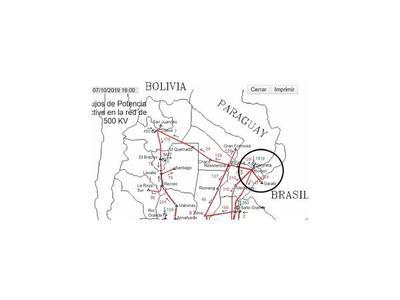EBY: Envían energía al Brasil, pese al reclamo paraguayo