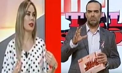 """El reclamo de Dahiana Bresanovich a Álvaro Mora """"Siempre salís en mi contra"""""""
