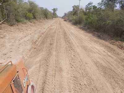 MOPC realiza mejoramiento del tramo Toro Pampa a Guazu Renda