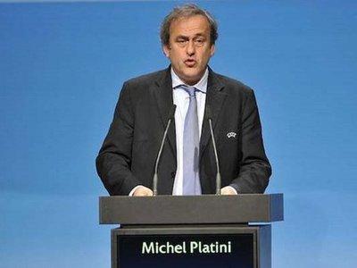 Michel Platini cumple su sanción