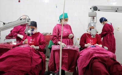 Ofrecen 50 cirugías de cataratas gratuitas