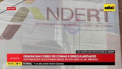 Indert: Exdiputado mencionado como reemplazante de Horacio Torres tiene mucha eficiencia y criterio propio, según Romero Roa