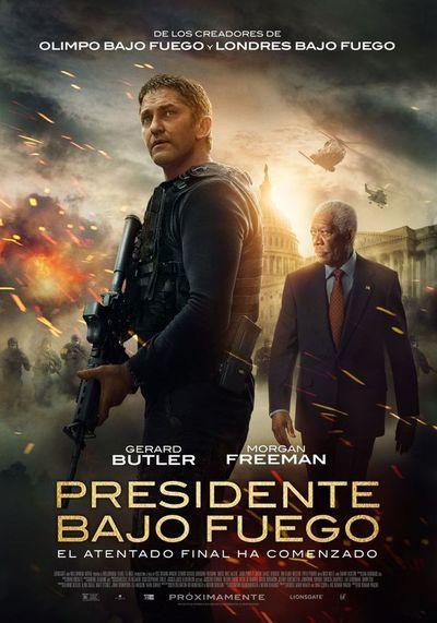 Presidente bajo fuego (2D)