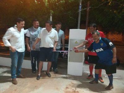 Itaipú realizó mejoras en plaza de Barcequillo